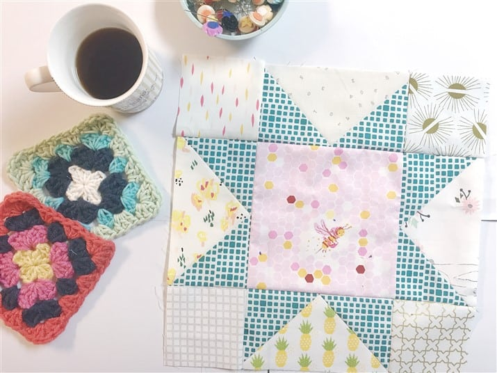 Little Miss Sawtooth Stars – Block 1 – Millie