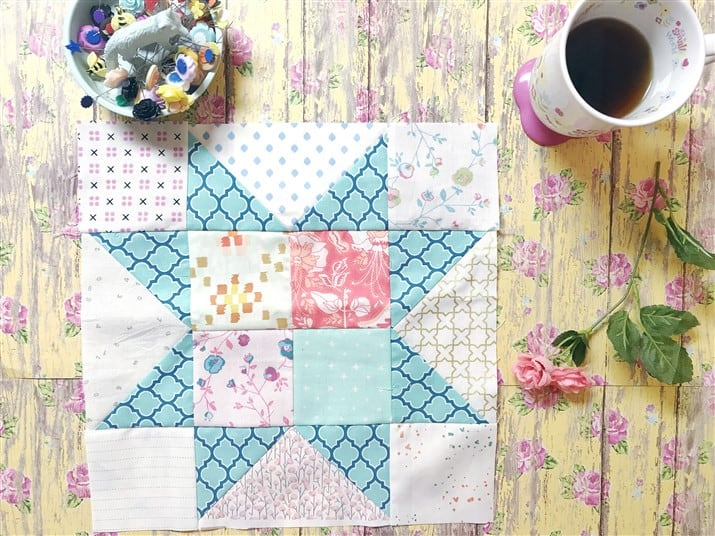 Little Miss Sawtooth Stars – Block 3 – Sadie
