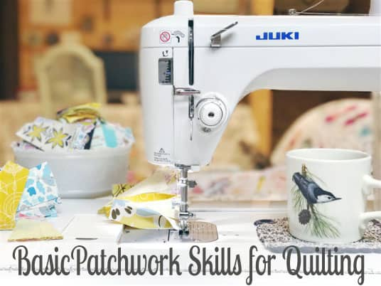 Basic Patchwork Skills for Quilt Making (video tutorial)