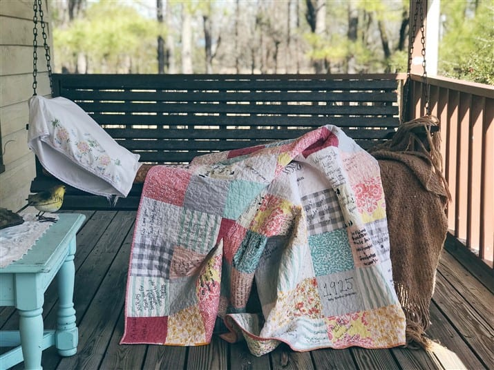 A Quilt Maker's Tale – The Guest Book Quilt
