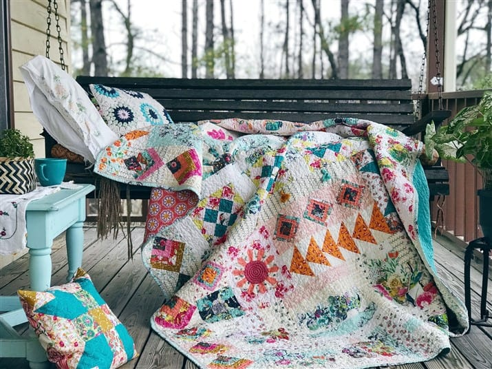 Anthologie Quilt (quilt reveal)