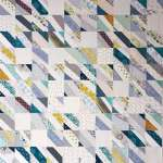 The Rescue Quilts – #4 – The Old and The New (in progress) – Landslide Quilt