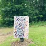 The Rescue Quilts – #5 – Finishing the OLD Landslide quilt – {quilt reveal}