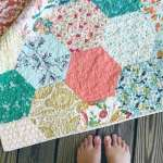 Hexagon Quilt #8 – quilt reveal