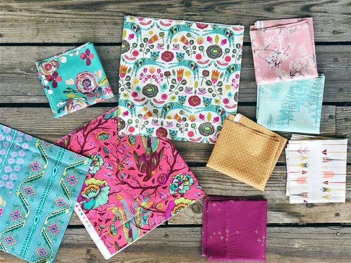 Monday is all about Fabric – #74 – Random fabrics