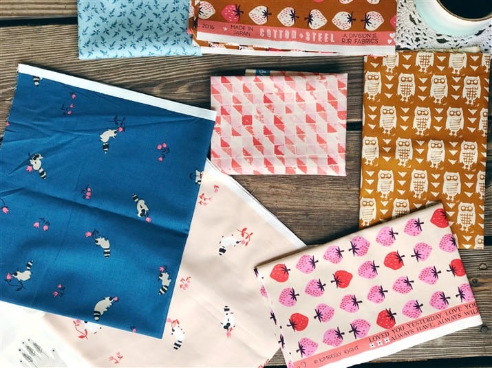 Monday is all about Fabric – #76 – Mostly Cotton + Steel