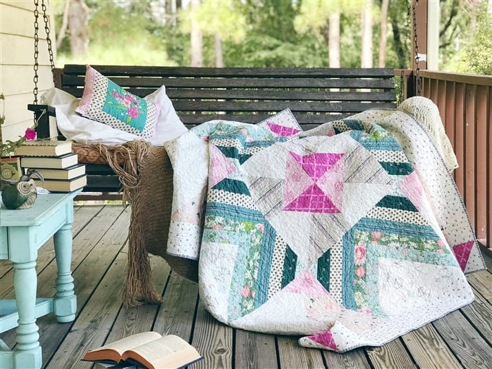The Carolina Mingle Quilt (quilt reveal and pattern release)