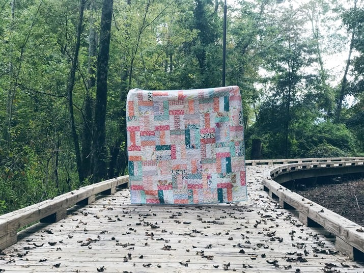 The Basketweave Quilt – Quilt Reveal
