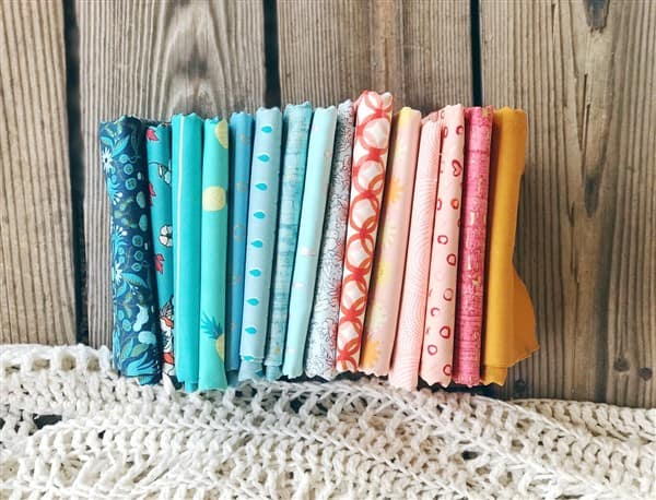 Monday is all about Fabric – #95 – Saturated Prints