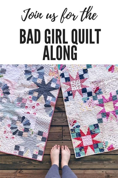 Announcing the Bad Girl Quilt Along