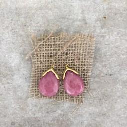 Stone Earrings $22