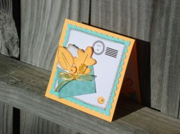 Special Delivery Anniversary Card - JBC, Wild Card, Potpourri Basket (Doodlecharms)