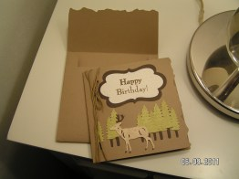 Masculine Card with Envelope