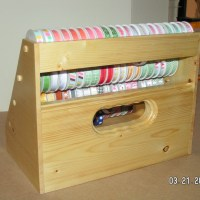 Handmade Wooden Ribbon Dispenser