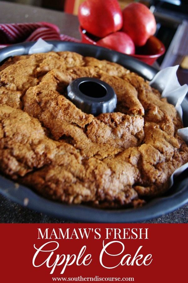 Mamaw's Fresh Apple Cake - Weekend Potluck Instant Pot Chicken Dumplings - Family Fresh Meals