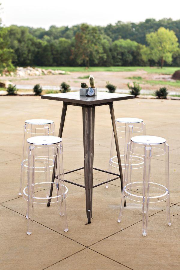 creative event design bistro tables