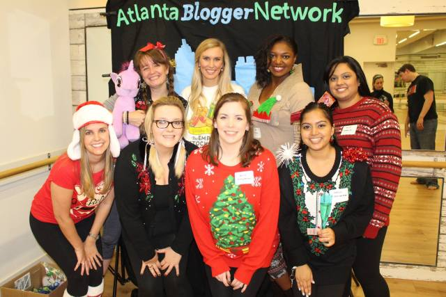 Atlanta Blogger Network Holiday Meetup | Photo via Peachfully Chic