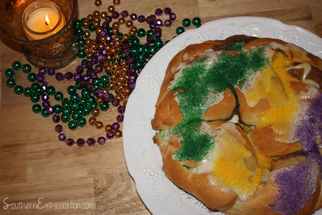 Southern Exhilaration: King Cake #MardiGras #Recipe