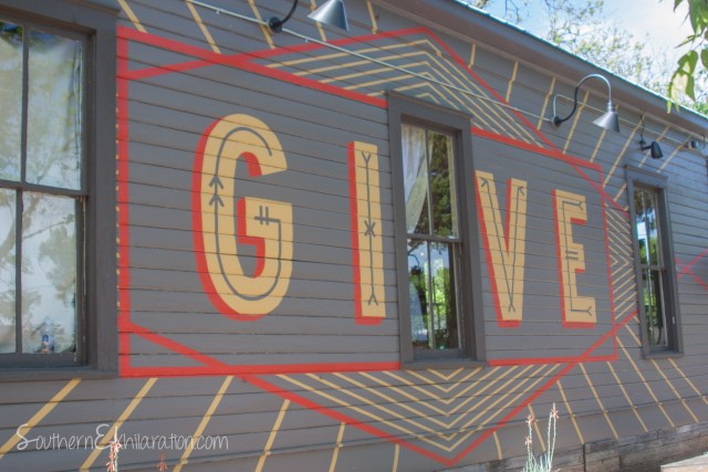 GIVE | South Congress + Gibson