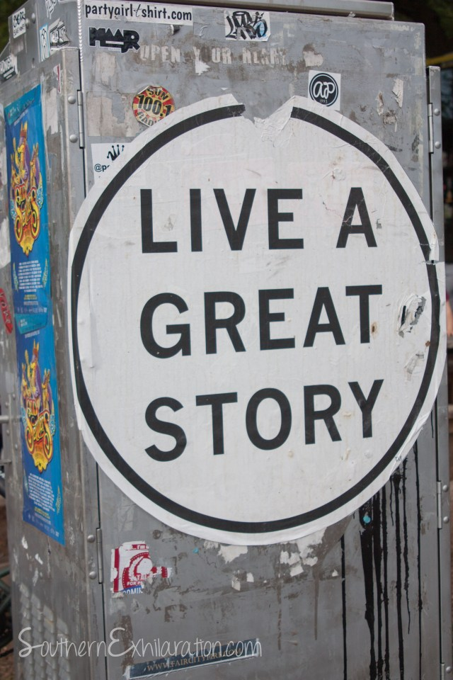 Live A Great Story | across from Mr. Rogers