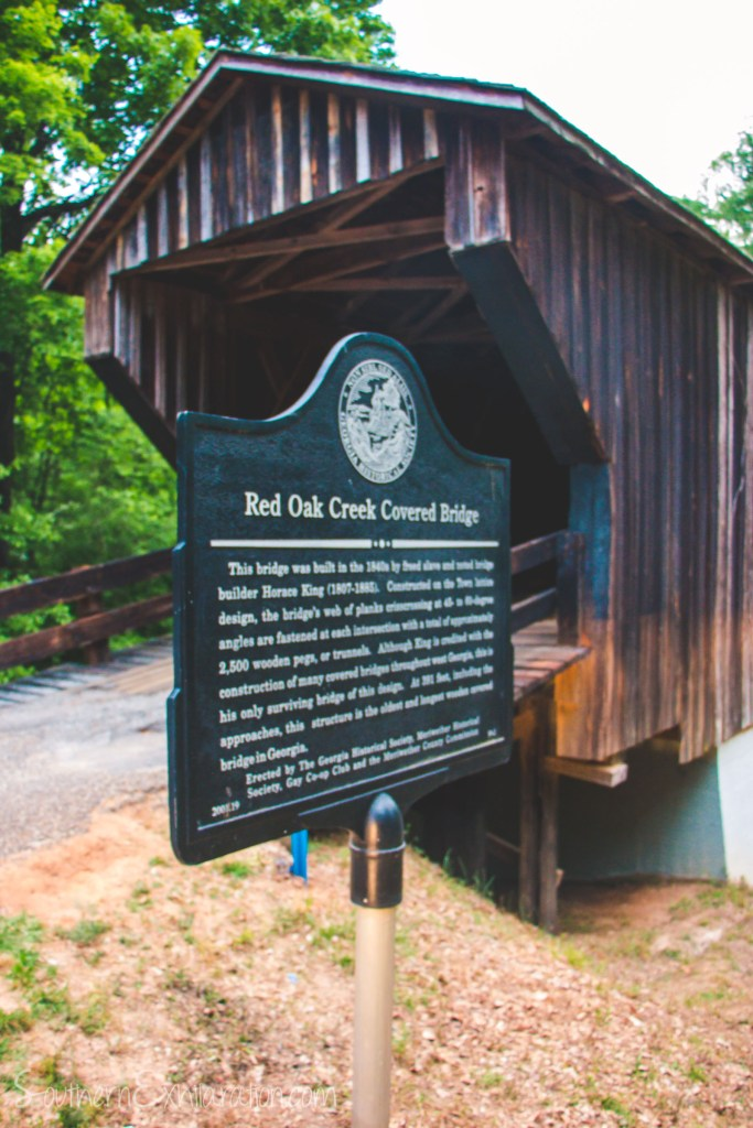 Red Oak Creek Covered Bridge | Woodberry, GA