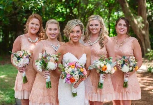 Southern Bridal Spring Bouquet