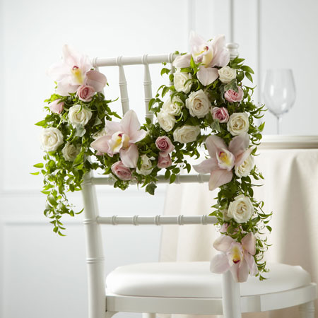 Smilax Wedding Chair Decor