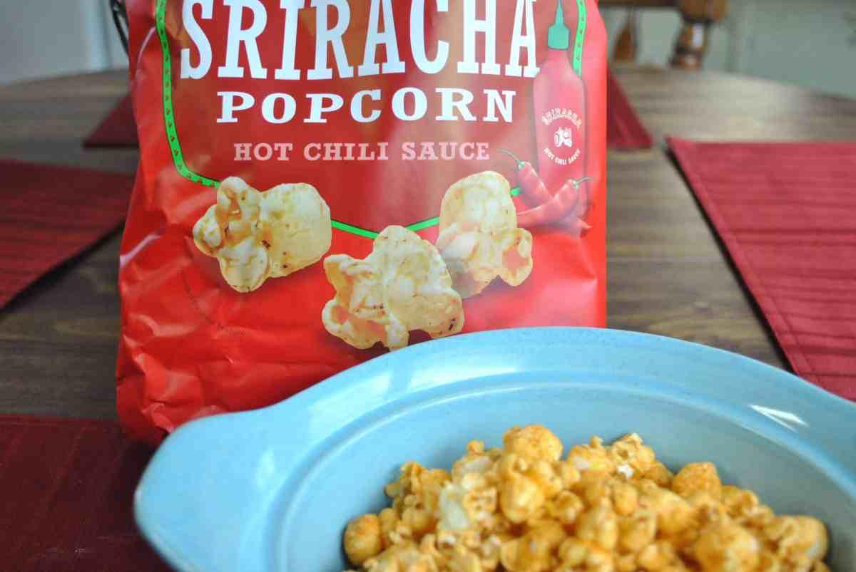 Popcorn, Indiana Sriracha Popcorn