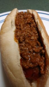 Southern Food Junkie Hot Dog Chili