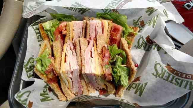 McAlister's Club Sandwich