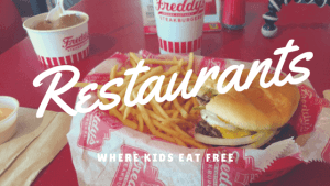 Kids Eat Free Or Cheap Southern Food Junkie