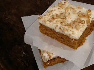 Southern Food Junkie's Pumpkin Squares