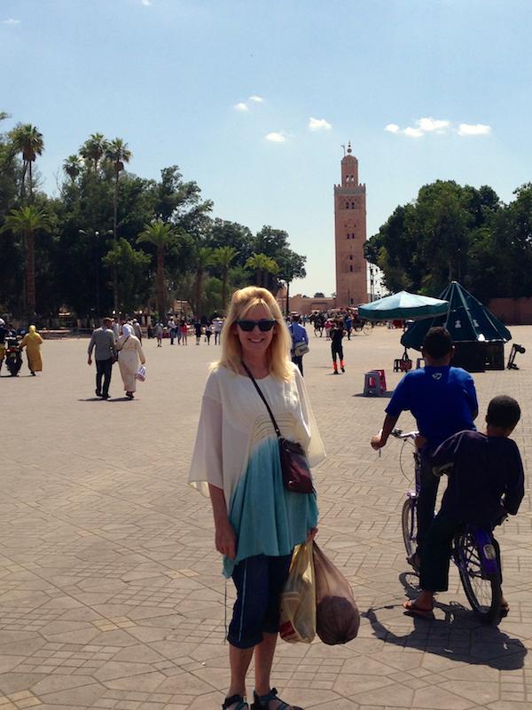 Typical weekend in Jemma el Fna Square Marrakesh