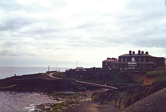 house by Ocean