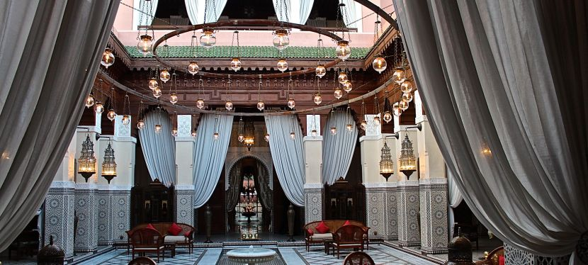 Royal Mansour for Regal Riads and Sunday Brunch