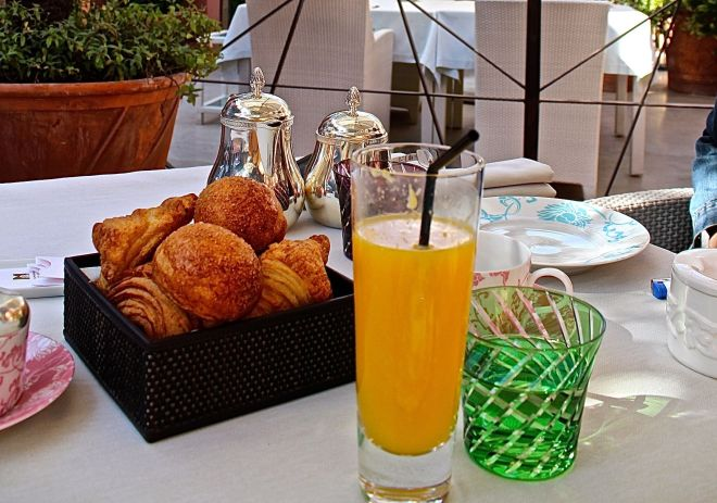 Breakfast at La Table, Royal Mansour