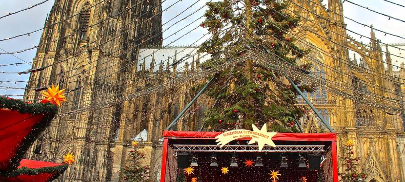 In Cologne but Never Alone: Reminded by Christmas to Fear Not