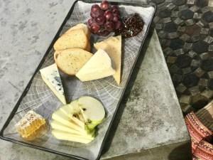 The Westin artisan cheese plate