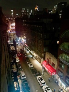 View from rooftop in Nolita, NYC