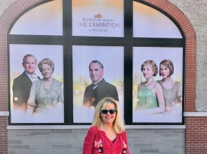 Downton Abbey exhibit at Biltmore with blogger Cindy McCain