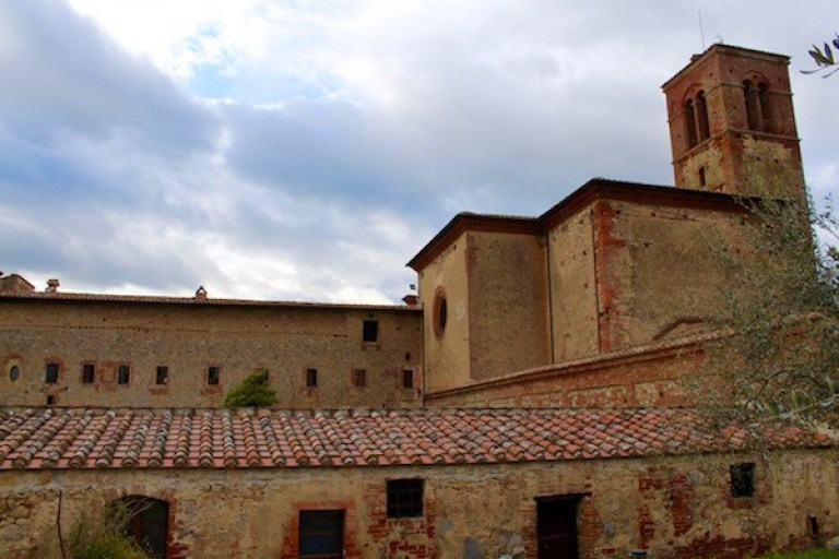 Tuscan monastery where English Patient was filmed
