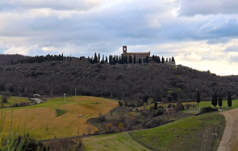 Tuscan Monastery where The English Patient was filmed.