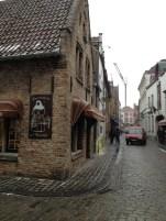 Bruges Street Corner