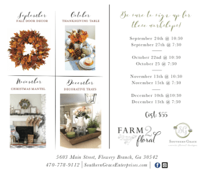 workshops southern grace flowery branch gainesville georgia north georgia fall table decor