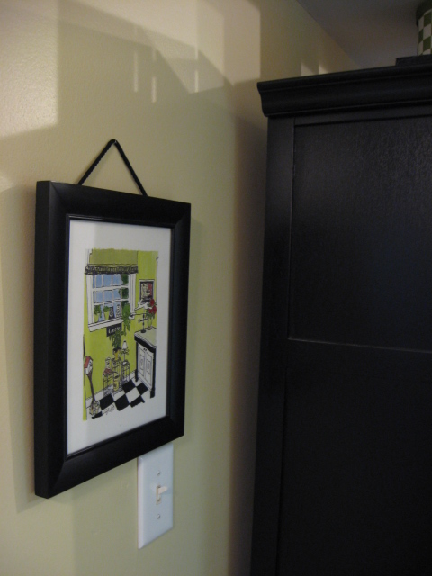 Office Nook Custom Frames Amp A Giveaway Southern