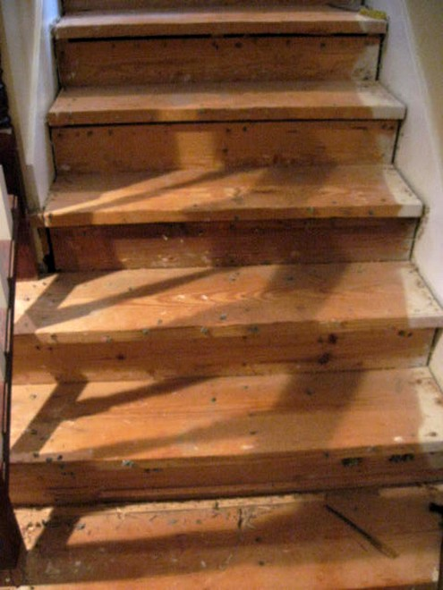 The Down & Dirty on the Stair Project