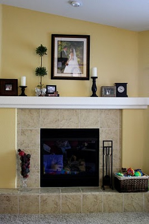 Feature Friday Brittany S Fireplace Makeover Southern
