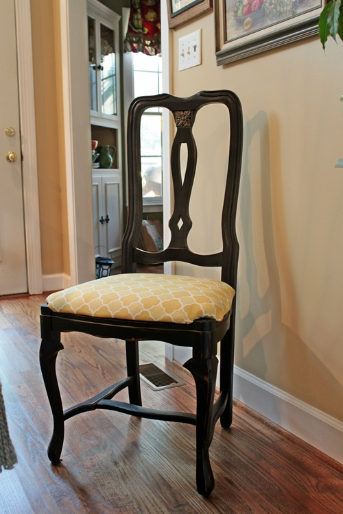 recovering chair seats