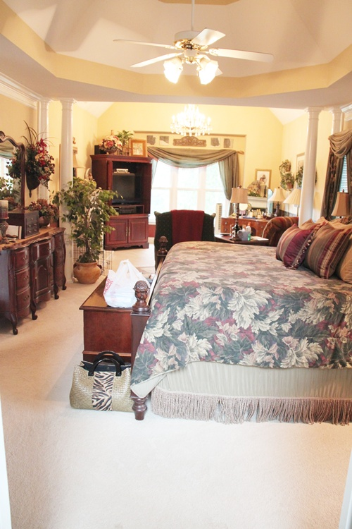 Before My Sister S Bedroom Renovation Southern Hospitality