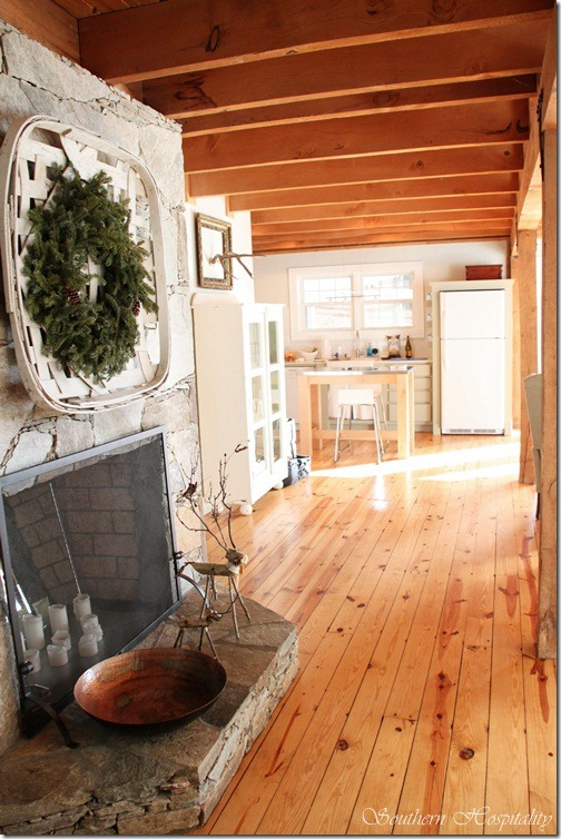 Adventures In Decorating Our 2015 Fall Kitchen: Waynesville, NC Cottage Visit